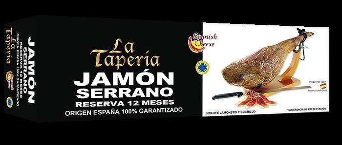 CAJA JAMON SERRANO GRANDE LA TAPERIA copia